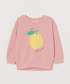 Трикотажный свитшот для девочки от H&M