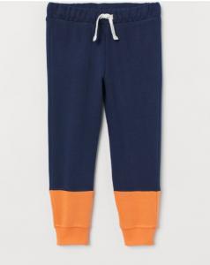 Штаны с флисовой байкой внутри для мальчика