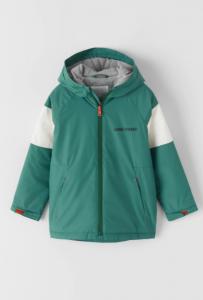 Демісезонна куртка-дощовик з підкладкою для хлопчика