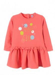 Трикотажне плаття з махровою ниткою для дівчинки,5К3308