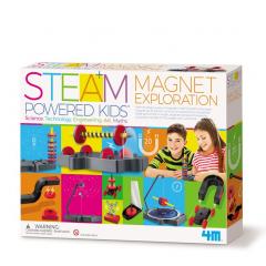 """STEAM-набір 4M """"Магнітні пригоди"""" 00-05535"""