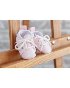 Бавовняні пінетки для малюка (рожеві), 1059