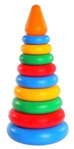 """Розвиваюча іграшка"""" Пірамідка"""" 11 ел., (конус),  Tigres 39103"""