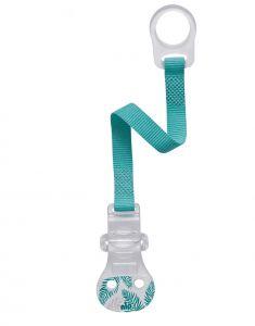 Тримач для пустушки з кільцем (ментолова), Nip 37001
