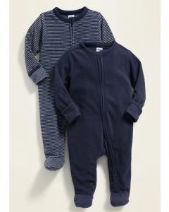 Флісовий чоловічок для дитини 1шт. (темно-синій)
