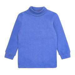 Трикотажний гольф для дитини (синій), ЗЛН132