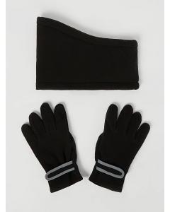 Флісовий комплект рукавички+снуд для дитини