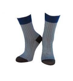 Трикотажні шкарпетки для дитини (світло-сірі), Duna, 953