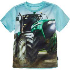 """Трикотажна футболка """"Трактор"""" для хлопчика, 9805"""