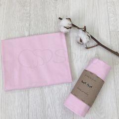 Фланелева пелюшка (рожева) Маленька Соня 466509