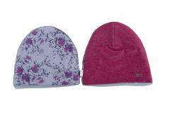 Шапочка Тюсо для дівчинки, фіолетова 17.04.004