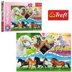 """Пазли """"Красиві коні"""", Trefl 13248"""