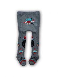 """Теплі колготки для хлопчика """"Робот"""" RA-35, YOclub"""