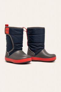 Теплі чоботи на липучках від Crocs