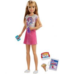 Кукла Барби из серии Barbie Skipper Babysitter, FHY89 / FXG91