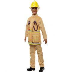 """Лялька Barbie Кен Пожежник, з серії """"Я можу бути"""", FXP01/FXP05"""