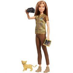 Лялька Барбі Фотожурналіст з серії Barbie NATIONAL GEOGRAPHIC, GDM44/GDM46