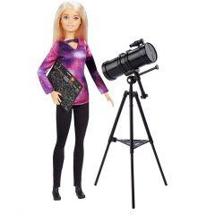 Лялька Барбі астрофізик з серії Barbie NATIONAL GEOGRAPHIC, GDM44 / GDM47
