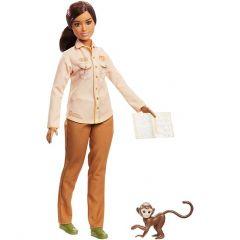 Лялька Барбі зоозахисник з серії Barbie NATIONAL GEOGRAPHIC, GDM44 / GDM48