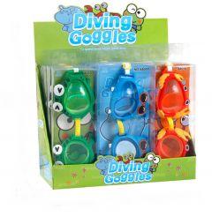 """Окуляри для плавання """"Бегемот"""" (1шт), Jacko Toys, 8801A"""