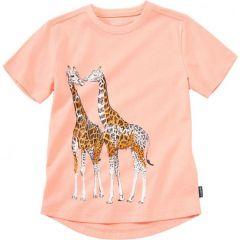 """Трикотажна футболка """"Жирафи"""" для дівчинки, 30279"""