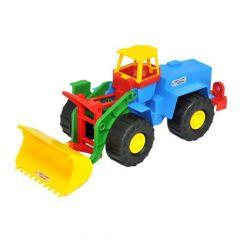 Іграшковий екскаватор, Wader 39212 (синій)