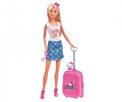 """Лялька Штеффі Hello Kitty """"Весела подорож"""", Steffi Love 109283012"""