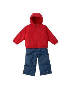 Зимовий комбінезон з двосторонньою курткою для дитини