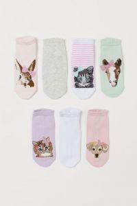 Набор носочков для ребенка от H&M (7 пар)