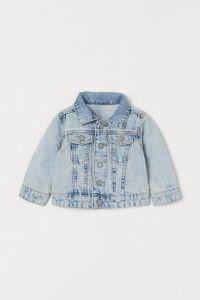 Джинсова куртка для дівчинки