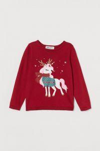 Святковий пуловер для дитини