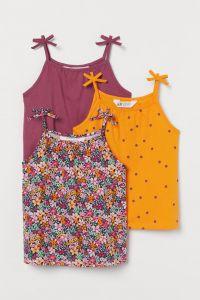 Топ для дівчинки від H&M 1шт. (помаранчевий)