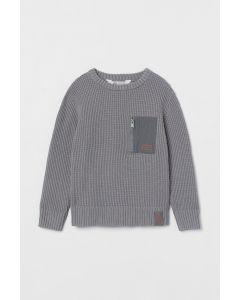 Джемпер текстурної в'язки від H&M