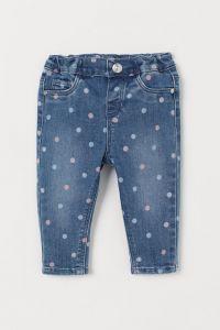Стильні джинси з принтом для дівчинки від H&M