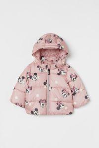 """Демісезонна куртка """"Minnie and Mickey Mouse"""" для дівчинки"""