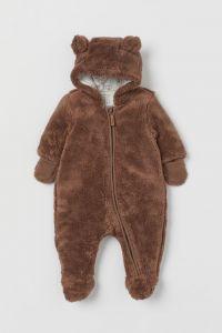 Плюшевий комбінезон для дитини від H&M