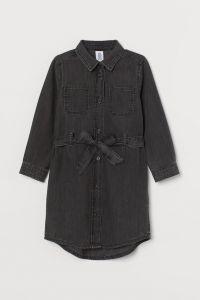 Котонове плаття-сорочка для дівчинки від H&M