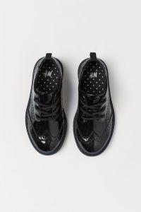 Стильні туфлі дербі для дівчинки