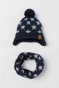 Набір (шапка, хомут) для хлопчика  від H&M