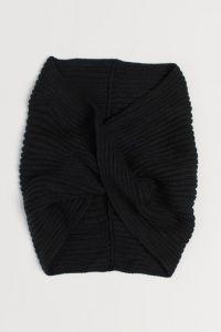 Шарф-снуд від H&M (чорний)