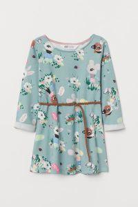 Плаття з легкою махровою ниткою для дівчинки