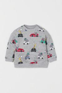 Світшот з легкою байкою для дитини від H&M