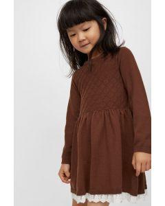 Трикотажне плаття із тонкої в'язки для дівчинки