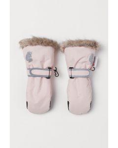 Непромокаючі рукавиці для дівчинки