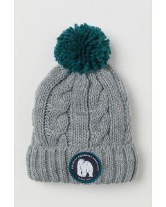 Теплая шапка с флисовой подкладкой для ребенка от H&M