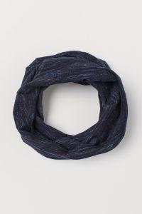 Трикотажний шарф-труба