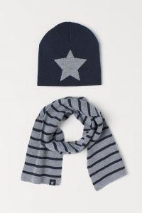Комплект з шапочки і шарфа для хлопчика
