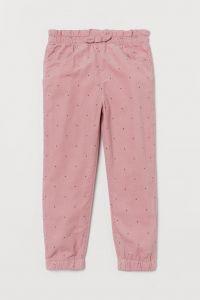 Вельветові штани з трикотажною підкладкою від H&M