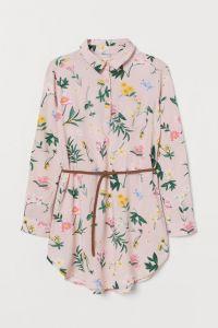 Рубашка-туника поло для девочки