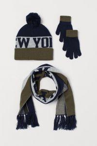 Набір (шапка, рукавички і шарф) для хлопчика від H&M